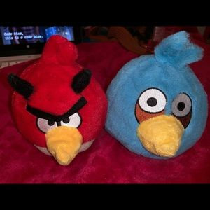 Angry Bird Plushes